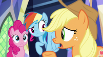 """Applejack """"we don't even know how long"""" S8E15"""