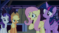 "Fluttershy ""how it might make them feel?"" S6E15"