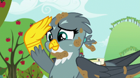 Gabby salutes to the Cutie Mark Crusaders S6E19