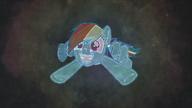 K19 Rainbow Dash patrzy na wszystkich