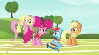 """Pinkie Pie """"we were running out of unicorns"""" S6E18"""