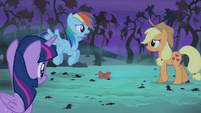"""Rainbow Dash """"your whole crop will be gone"""" S4E07"""