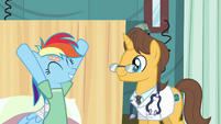 Rainbow Dash goodmorning S02E16