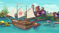 Seaward Shoals in Pinkie Pie's story S6E22