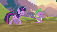 Spike and Twilight going S2E22