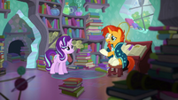 """Sunburst """"Princess Twilight is keen on the two of us rekindling our friendship"""" S6E2"""