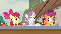 Sweetie Belle -nothing fishy's going on- S7E8