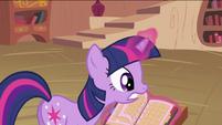 Twilight Sparkle with calendar S2E03