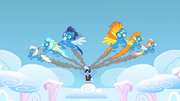 Wonderbolts making an appearance S1E16.png