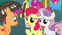 "Apple Bloom ""you are stayin' here, right?"" S9E12"