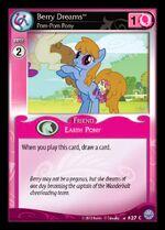 Berry Dreams, Pom-Pom Pony card MLP CCG