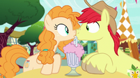 Bright Mac and Pear Butter boop noses S7E13
