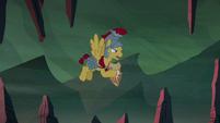 Flash Magnus clangs his hoof against Netitus S7E16