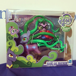 Mane-iac Mayhem & Spike the Dragon Comic-con exclusive