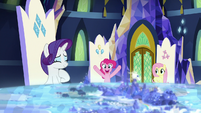 "Pinkie Pie ""confetti cannons for everycreature?"" S8E2"