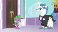 S05E10 Spike rozmawia z Fancypants'em