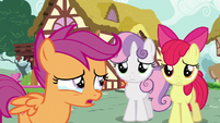 "Scootaloo teary-eyed ""cutie mark failures"" S6E19"