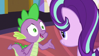 "Spike ""what are you wearin'?"" S7E1"
