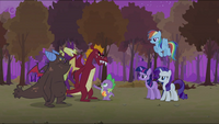 Spike telling the dragons S2E21