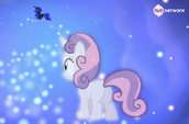 Sweetie Belle sees Princess Luna (Hub promotional) S4E19