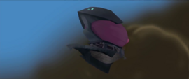 The Storm King's airship appears MLPTM