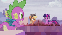 Twilight --figure out when everything changed-- S5E25