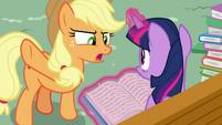 """Applejack """"not goin' through that again!"""" S8E18"""