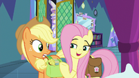 "Fluttershy ""a hug from Angel Bunny"" S8E2"