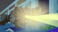 Hospital staff chasing Rainbow Dash S2E16