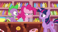 Pinkie Pie --I guess Rarity had other ideas-- S6E22