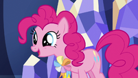 Pinkie Pie excited about her ambassador position S7E11