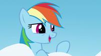 """Rainbow Dash """"if you're too afraid to shine"""" S6E24"""