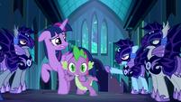 Rainbow Dash --The princess asked you a question!-- S5E26