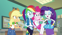 "Rarity ""everyone's bound to look adorable"" EGFF"