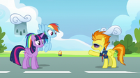 """Spitfire """"what are you doing back so soon?"""" S6E24"""