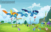 Wonderbolts flying promotional S4E10