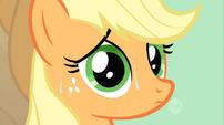 Applejack sweaty S02E14