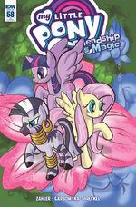 Comic issue 58 cover RI