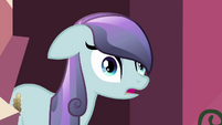 Crystal pony's eyes wide open S3E1