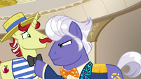 Flam nervously agrees to stay with Gladmane S6E20