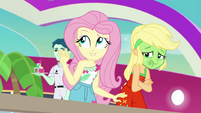 Fluttershy trying to find the right word EGSB