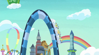 Rollercoaster climbs to the rails' peak S8E5