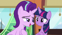 "Starlight Glimmer ""I wouldn't say mobbed"" S6E16"