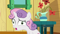 Sweetie Belle in derp-eyed confusion S6E19