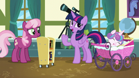 """Twilight """"didn't think the foals would be interested"""" S7E3"""