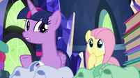 """Twilight Sparkle """"there are a lot of books"""" S5E23"""