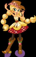 Applejack Rainbow Rocks character bio art 2