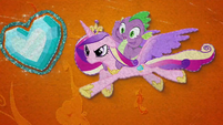 Cadance saves Spike and the Crystal Heart BFHHS5