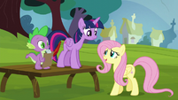 """Fluttershy """"I guess you had to be there"""" S5E22"""