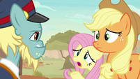 "Fluttershy ""you really startled us"" S8E23"